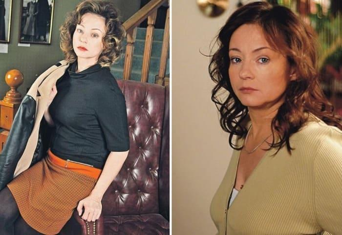 Актриса театра и кино Евгения Добровольская | Фото: stylenews.ru и kino-teatr.ru