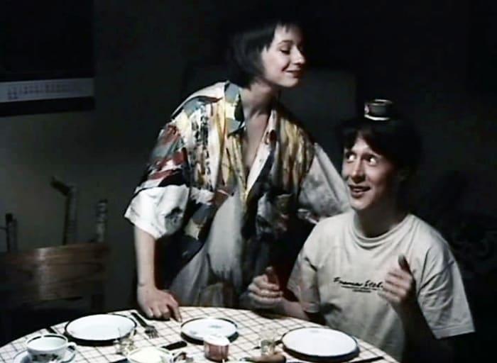 Евгения Добровольская и Михаил Ефремов в фильме *Мужской зигзаг*, 1992 | Фото: kino-teatr.ru