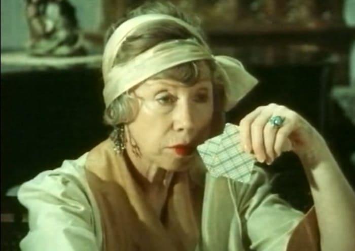Евгения Ханаева в фильме *Безумный день инженера Баркасова*, 1982 | Фото: kino-teatr.ru
