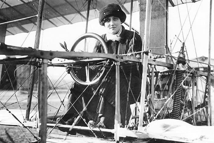 Одна из первых военных летчиц княгиня Шаховская   Фото: ivak.spb.ru