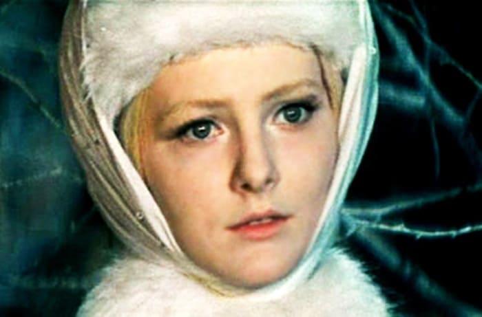 Евгения Филонова в роли Снегурочки | Фото: kino-teatr.ru