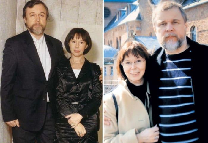 Актриса и ее второй муж, режиссер Андрей Эшпай | Фото: kino-teatr.ru, eg.ru