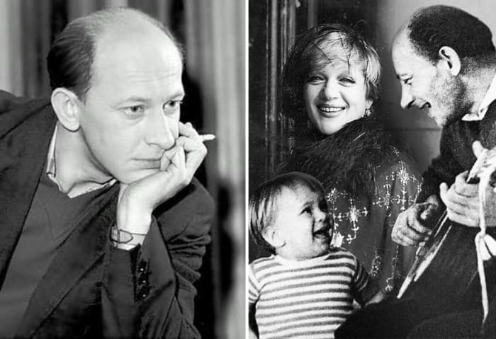 Евгений Евстигнеев с первой женой и сыном | Фото: 2aktera.ru