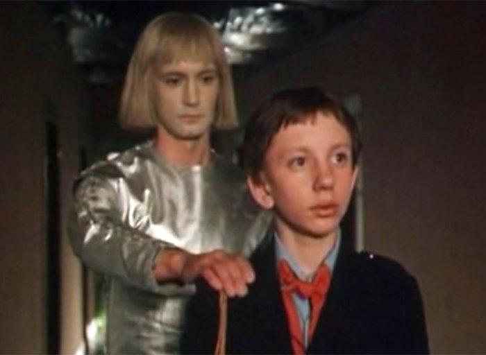 Евгений Герасимов в роли робота Вертера, 1984 | Фото: nastroenie.tv