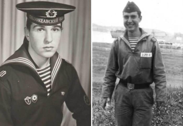 Евгений Гришковец во время службы в армии   Фото: showbizzz.net