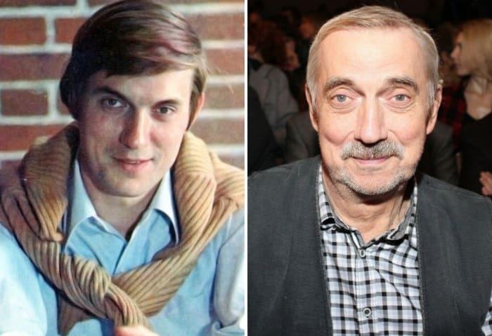 Актер в молодости и в зрелые годы | Фото: kino-teatr.ru