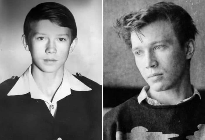 Актер в юности | Фото: biographe.ru