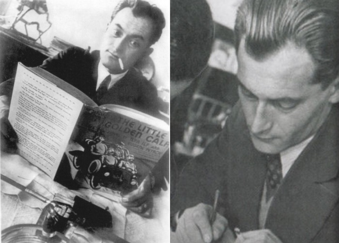 Знаменитый советский писатель Евгений Петров | Фото: radikal.ru и culture.ru