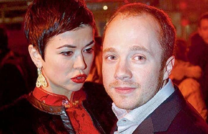 Актер с первой женой, Екатериной Сканави | Фото: stuki-druki.com