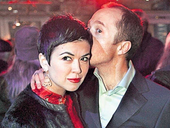 Актер с первой женой, Екатериной Сканави | Фото: boshsoz.com