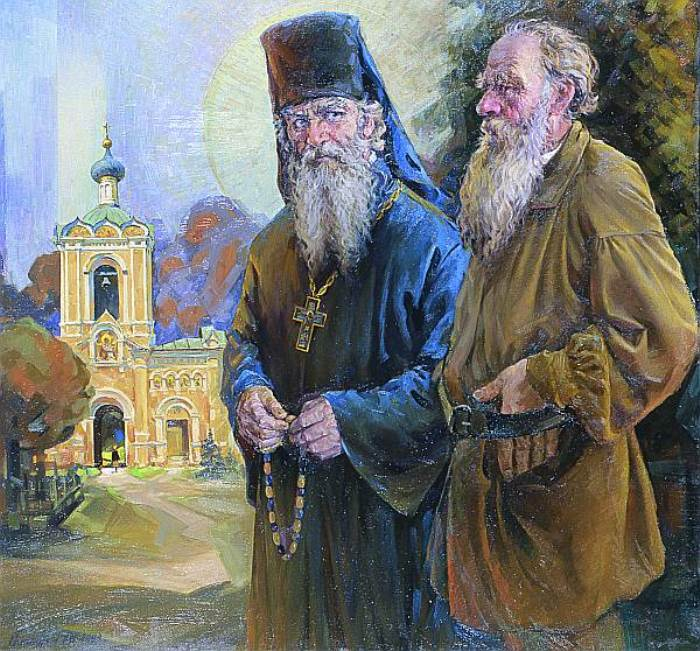А. Соломатин. Беседа о религии, 1993