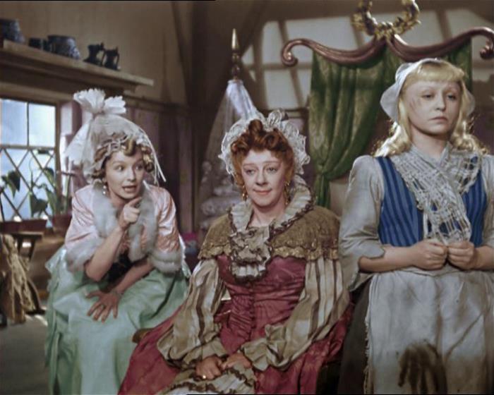 Цветная версия сказки *Золушка*, 1947 г.