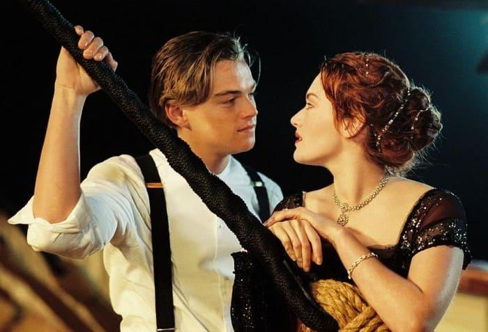 Леонардо Ди Каприо и Кейт Уинслет в фильме *Титаник*, 1997 | Фото: kp.ru