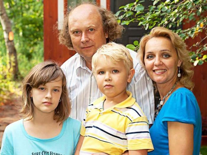 Татьяна Проценко с семьей | Фото: stuki-druki.com