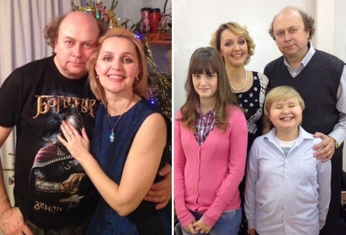 Татьяна Проценко с семьей | Фото: starhit.ru