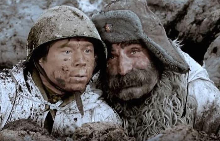 Кадр из фильма *Отец солдата*, 1964 | Фото: radio_mohovaya9.tilda.ws