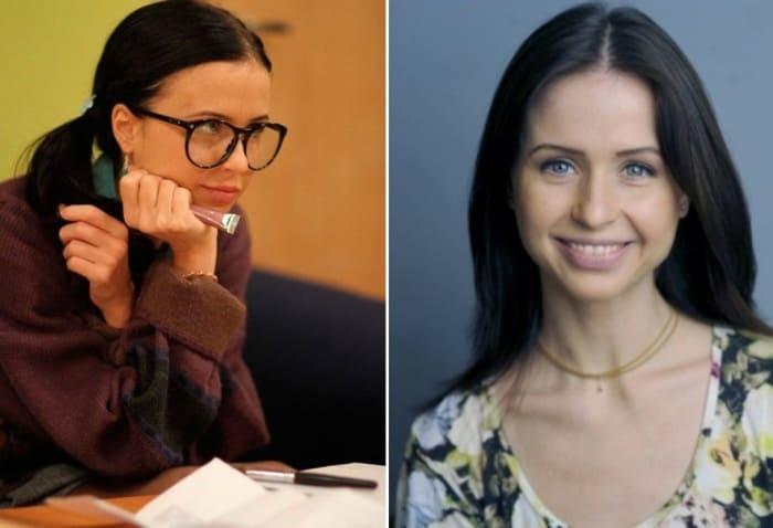 Мирослава Карпович в сериале *Папины дочки* и в наши дни | Фото: teleprogramma.pro и 24smi.org