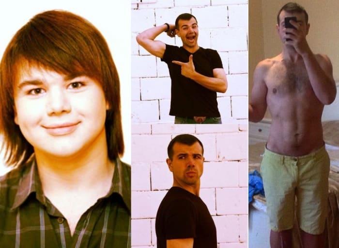 Михаил Казаков тогда и сейчас | Фото: life.ru