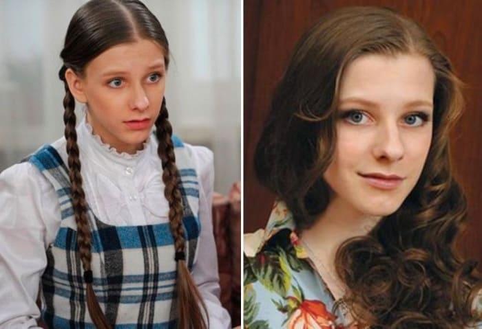 Елизавета Арзамасова в сериале *Папины дочки* и в наши дни | Фото: teleprogramma.pro и 24smi.org