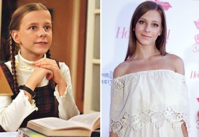 Елизавета Арзамасова в сериале *Папины дочки* и в наши дни | Фото: starhit.ru
