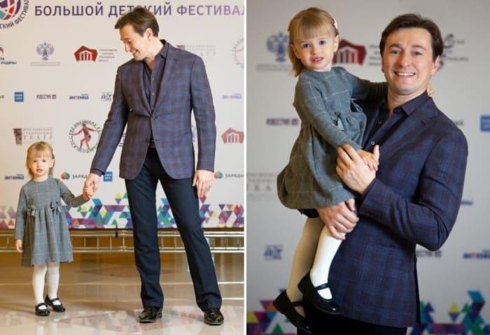 Актер с дочерью | Фото: starhit.ru, mama-likes.ru