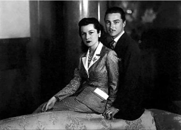 Принцесса Фавзия со вторым супругом Исмаилом Ширином | Фото: aeslib.ru