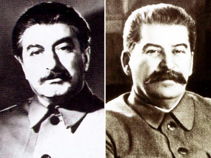 Феликс Дадаев (слева) и Иосиф Сталин | Фото: media.tumblr.com