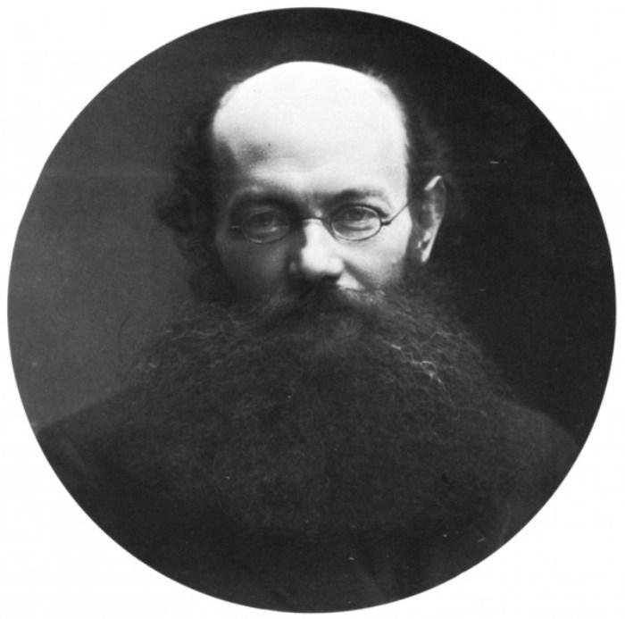 Русский политический деятель Петр Кропоткин