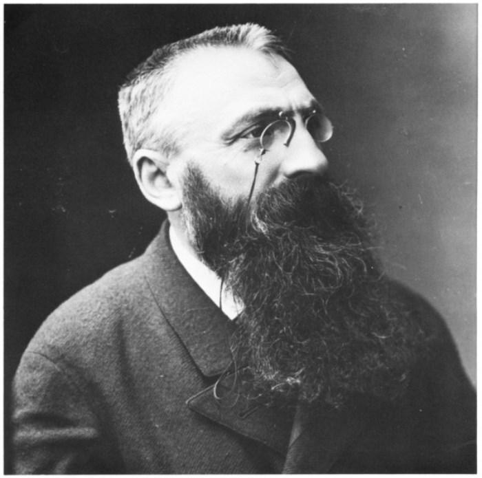 Скульптор Огюст Роден