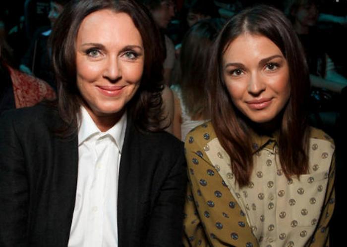 Татьяна Лютаева и ее дочь Агния Дитковските | Фото: 7days.ru