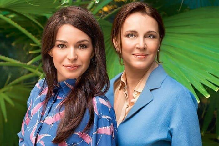 Татьяна Лютаева и ее дочь Агния Дитковските | Фото: dailyshow.ru