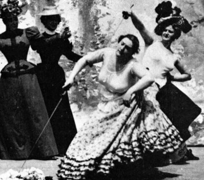 Короткометражный немой фильм *Дело чести*, 1901