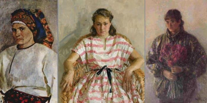 Дочери Татьяны Яблонской стали художницами | Фото: pics.ru