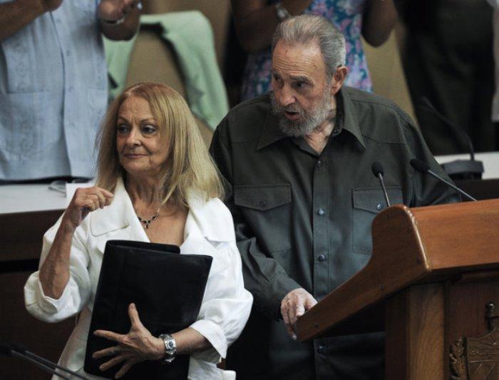 Далия Сото дель Валье и Фидель Кастро   Фото: newtimes.ru