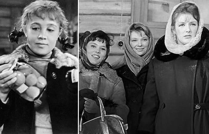 Кадры из фильма *Девчата*, 1961 | Фото: kino-teatr.ru