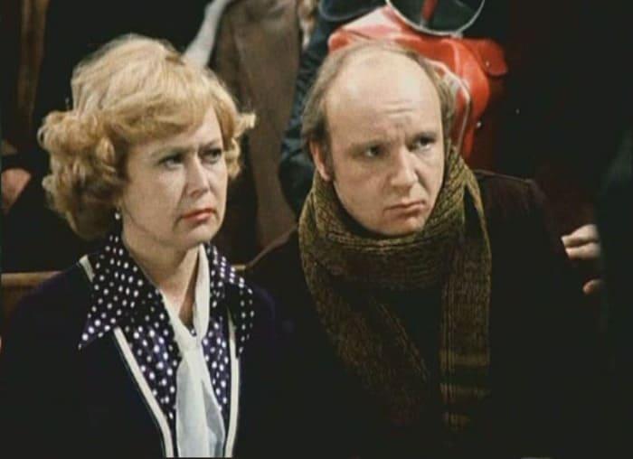 Светлана Немоляева и Андрей Мягков в фильме *Гараж*, 1979 | Фото: kino-teatr.ru