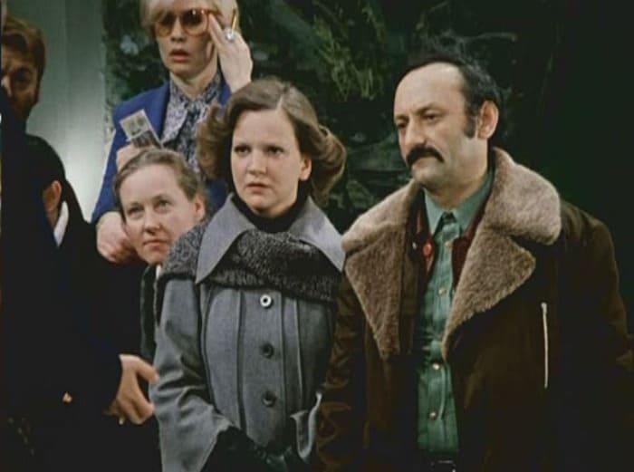 Анастасия Вознесенская и Семен Фарада в фильме *Гараж*, 1979 | Фото: kino-teatr.ru
