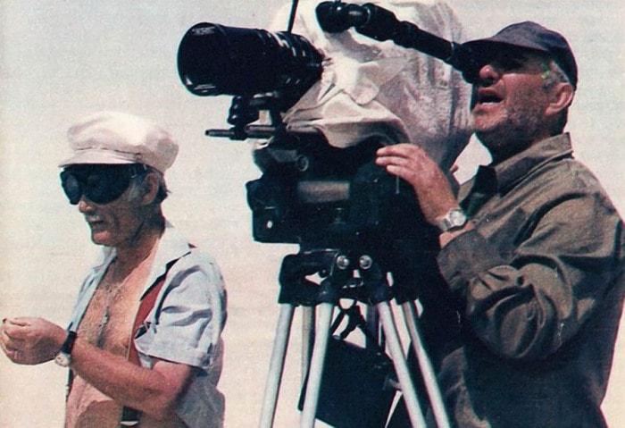 Г. Данелия на съемках фильма | Фото: mtdata.ru