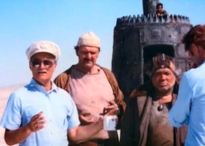 Г. Данелия на съемках фильма | Фото: nevsepic.com.ua
