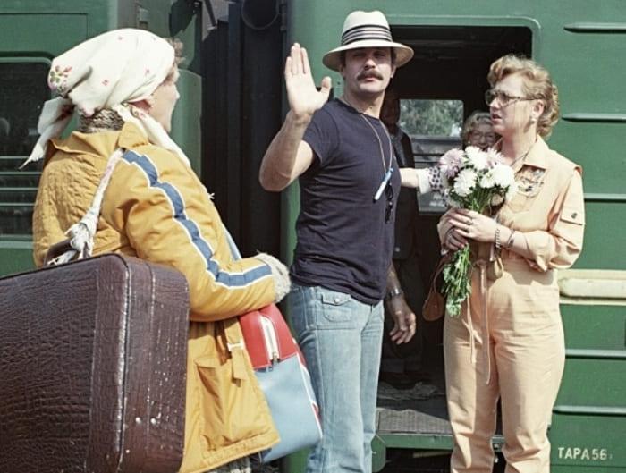 Никита Михалков на съемках фильма | Фото: liveinternet.ru