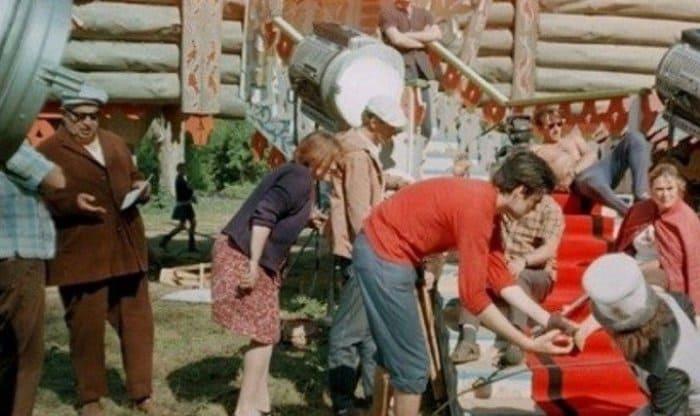 На съемках фильма *Огонь, вода и медные трубы*, 1967 | Фото: riamo.ru