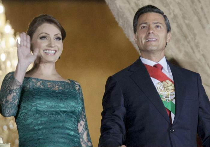 Анхелика Ривера и Энрике Ньето | Фото: teleprogramma.pro