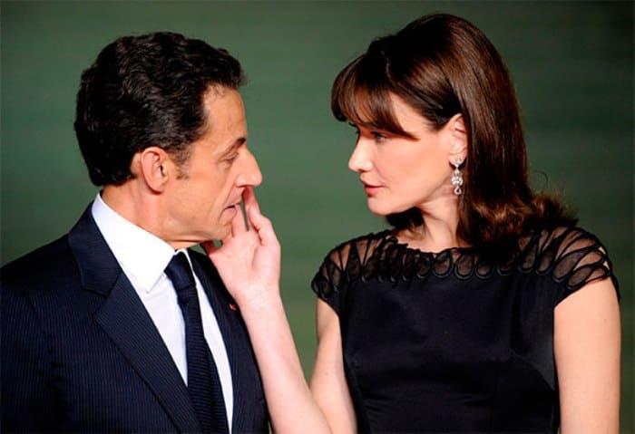 Карла Бруни и Николя Саркози | Фото: dni.ru