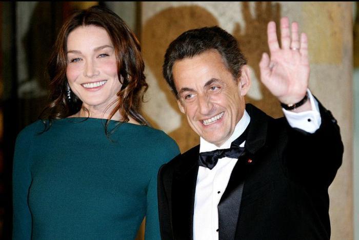 Карла Бруни и Николя Саркози в 2010 г. | Фото: teleprogramma.pro