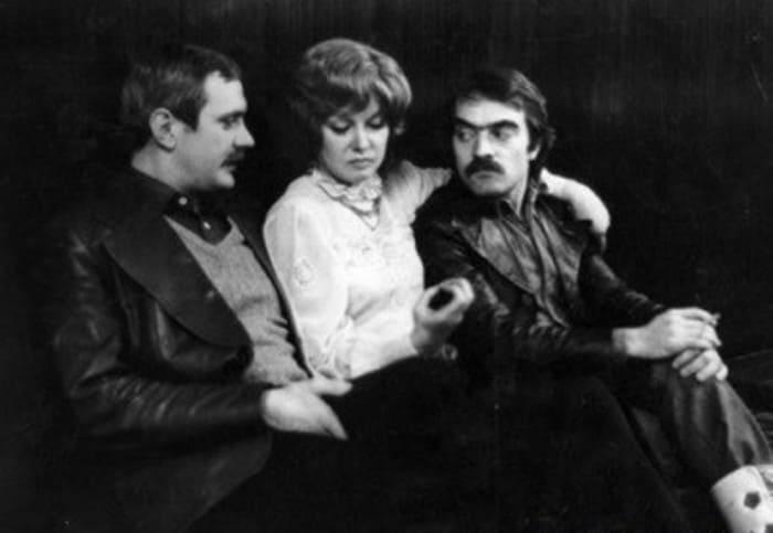 На съемках фильма *Пять вечеров*, 1978 | Фото: mgorskikh.com