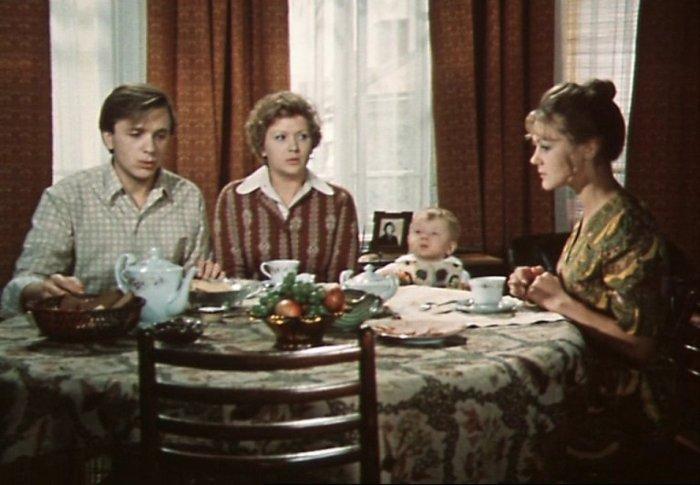 Кадр из фильма *По семейным обстоятельствам*, 1977 | Фото: domkino.tv