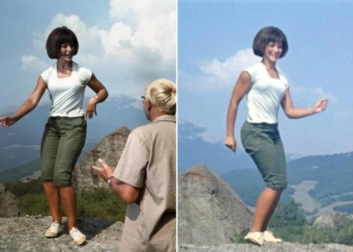 Популярный танец твист. Кадры из фильма *Кавказская пленница*, 1966   Фото: kino-teatr.ru
