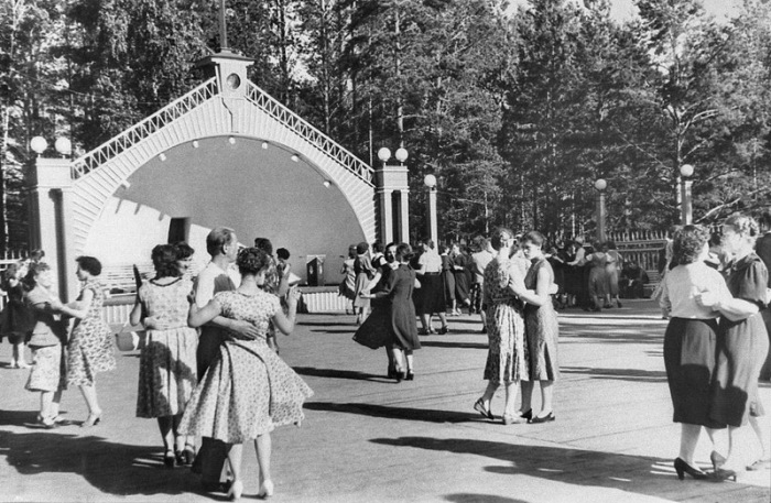 Рижские танцплощадки 1960-х гг.   Фото: m.ves.lv
