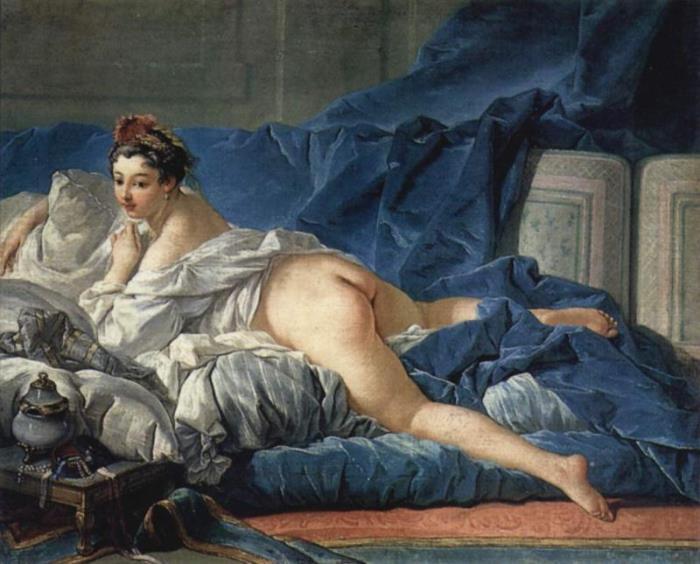 Франсуа Буше. Темноволосая одалиска, 1743
