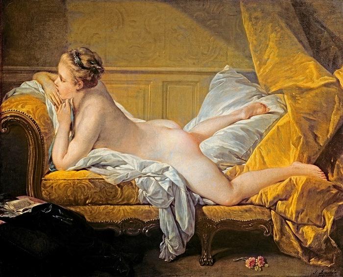 Для картины *Светловолосая одалиска* Буше позировала 12-летняя любовница Людовика XV, 1752